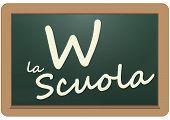 Viva la escuela en Italiano
