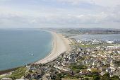 Chesil Beach from Portland, Dorset