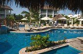 Pool At Resort In Cozumel