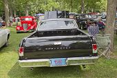 Back View Of A 1964 Chevy El Camino