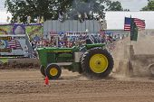 John Deere 6030 Tractor Close Up