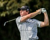 Rory McIlroy At The 2012 Barclays