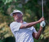 Vijay Singh At The 2012 Barclays