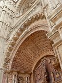 Doorway Detail, Palma Cathedral