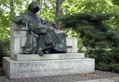 Anonymous statue, Budapest