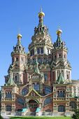 Peterhof, Cathedral Of  Apostles Peter And Paul