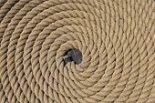 foto of uss constitution  - Rope on the USS Constitution in Boston - JPG