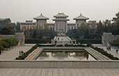 View Of The Great Peace Park Located In Nanjing