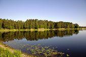 Beautiful Valguma lake