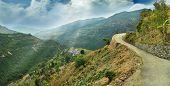 Alpine Landscape In The Himalayas