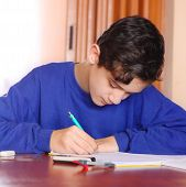 Student And Notebook