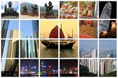 Fabelhafte Hong Kong Collage