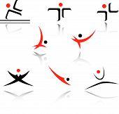 Conjunto de símbolos de deporte