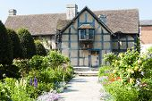 Geburtsort von William Shakespeare, Stratford-upon-Avon, Warwickshire, England