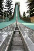 Torre de salto de esqui