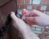 thief picking lock