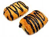 Chocolate pastry cakes