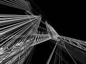 abstract bilding strakcher