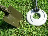 Metal Detector and Shovel