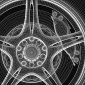 modern  wheel