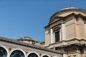 Architectural Detail On Vatican Museum