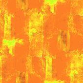 abstract orange, yellow avant-garde seamless wallpaper watercolo