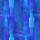 abstract blue, purple seamless painted watercolor background on