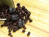 Www- Internet Coffee House Concept