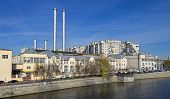 The Old Power Station In Central Moscow.
