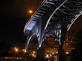 Nighttime Bridge