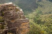 Grose Valley In Blue Mountains Australia