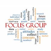 Focus Group Word Cloud Concept