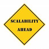 Scalability Ahead Sign