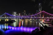 Brisbane Story Bridge by Night