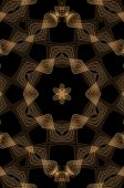 Chocolate Seamless Fractal Pattern