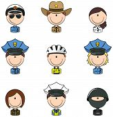 Police Officer Avatars