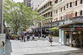 Brisbane city Queen Street Mall