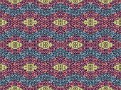 Rhomboid Colorful Pattern