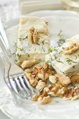 Stilton Cheese And Walnuts
