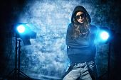 image of rap-girl  - Modern hip - JPG