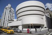 The Solomon R. Guggenheim Museum of modern and contemporary art in Manhattan