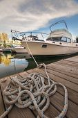 Boat In Toronto Waterfront