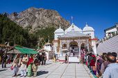 The Temple of Gangotri