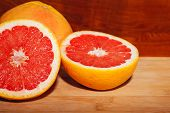 Slice Red Grapefruit