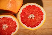 Slice Red Grapefruit