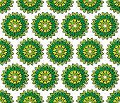 Greenish Yellow Florets