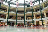LISBON, PORTUGAL - MAY 29, 2014: Inside the Colombo Shopping Center in Lisbon. The Colombo opened in