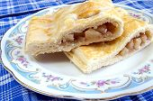 Strudel On A Plate