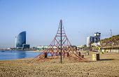 Barceloneta Beach In Summer