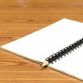 Notebook And Pencil